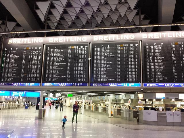 海外旅行 空港