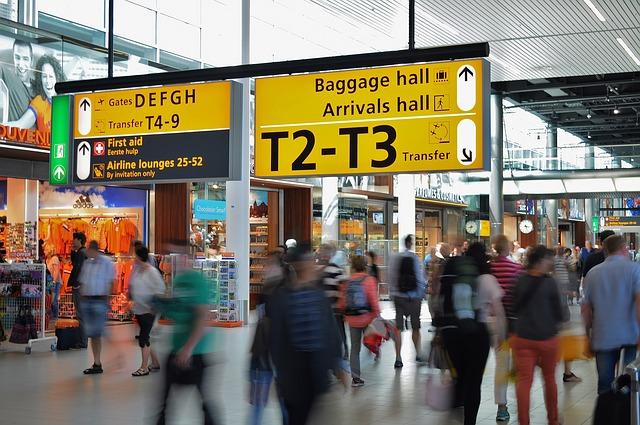 世界一周 空港 旅