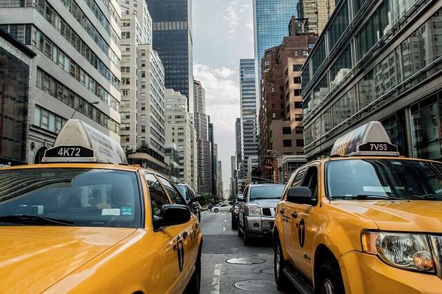 世界一周 旅 タクシー