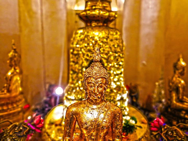 タイ バンコク ワットサケート 写真 世界一周