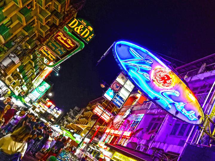カオサンロード タイ バンコク 旅行 観光