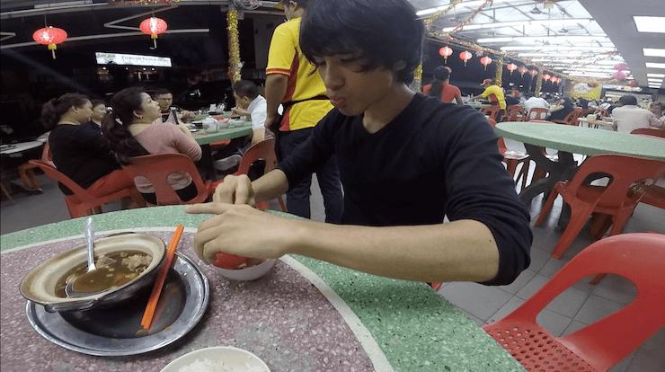 マレーシア クアラルンプール 肉骨茶 旅 世界一周