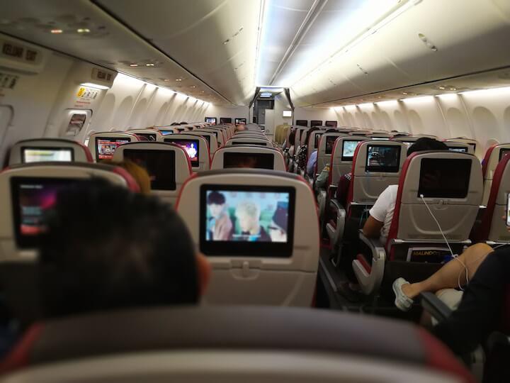 タイ マレーシア 世界一周 飛行機 LionAir