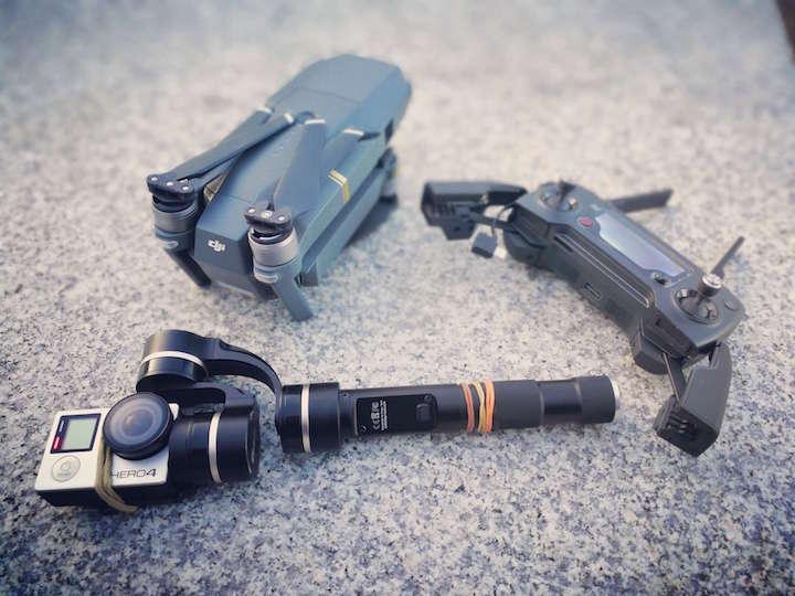 海外旅行 カメラ GoPro ドローン