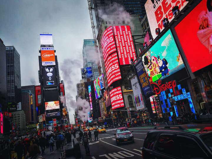 タイムズスクエア ニューヨーク アメリカ 観光 おすすめ まとめ