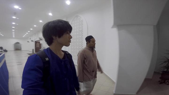 マレーシア マラッカ 水上モスク