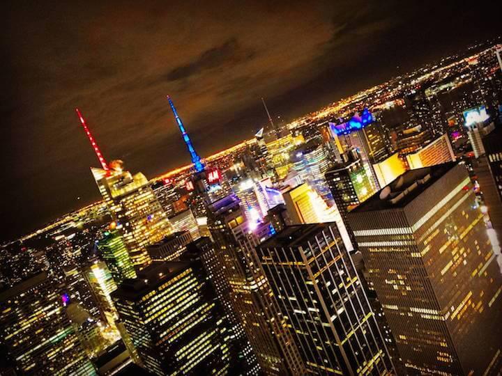 ニューヨーク アメリカ 夜景 観光 おすすめ まとめ トップ・オブ・ザ・ロック