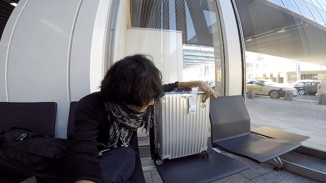 ドイツ フランクフルト空港 RIMOWA リモワ スーツケース