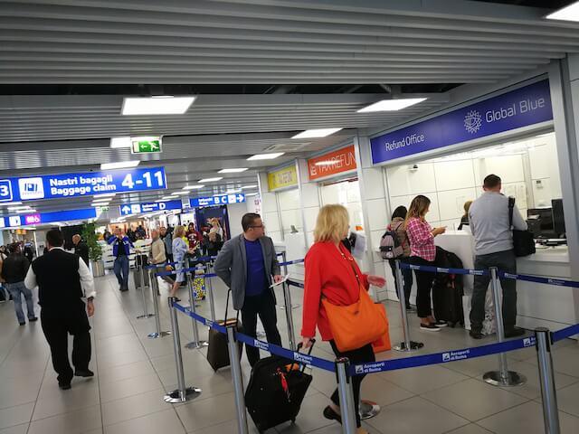 ドイツ フランクフルト空港 RIMOWA リモワ スーツケース 免税