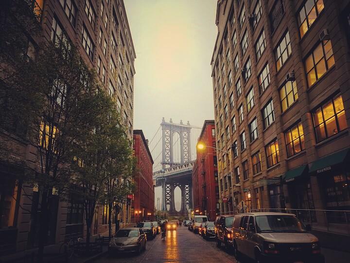 ダンボ ニューヨーク アメリカ 観光 おすすめ まとめ ブルックリン ダンボ