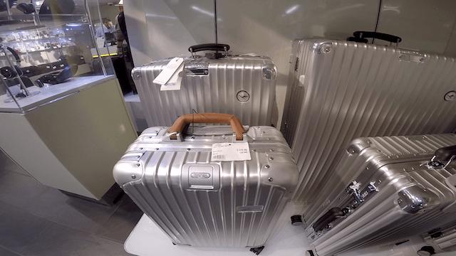 RIMOWA リモワ スーツケース 修理 東京 銀座