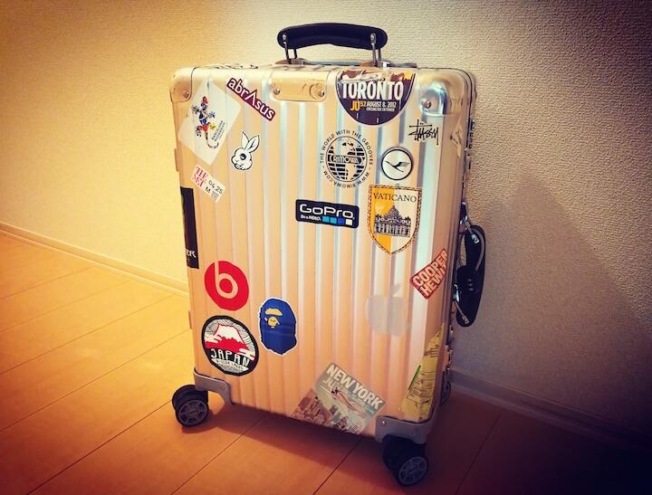 RIMOWA スーツケース 東京 修理