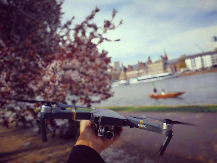 海外旅行 空撮 ドローン MavicPro