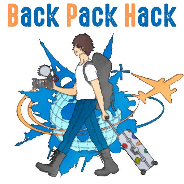 Back Pack Hack-旅をテクノロジーでハックする