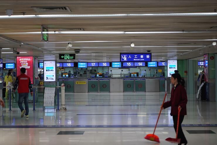 深センから香港国際空港への行き方 8