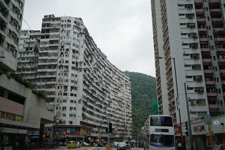 香港 インスタ 団地 マンション QuarryBay 行き方