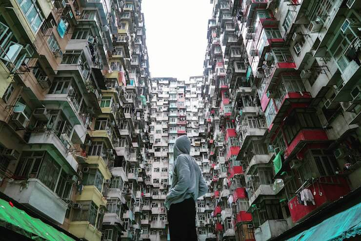 Instagram spot,Hong Kong,Quarry Bay mansion.