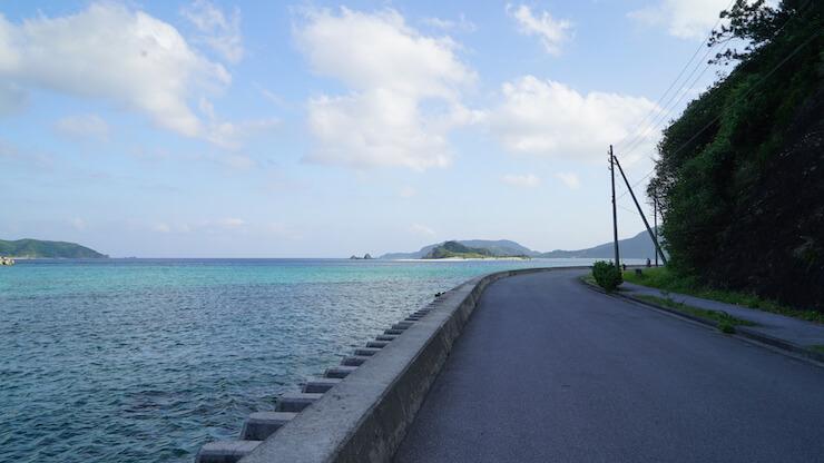 沖縄 座間味島 阿真ビーチ