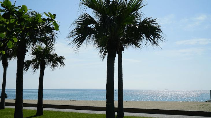 沖縄 北谷 サンセットビーチ
