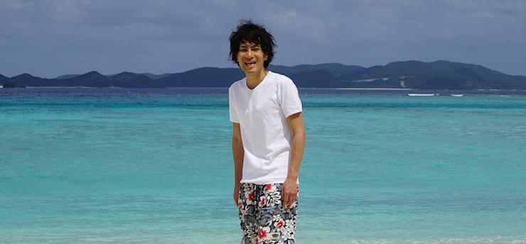 沖縄那覇 渡嘉敷島 ビーチ 写真