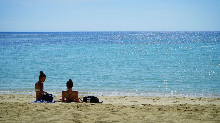 沖縄 北谷 サンセットビーチ 行き方
