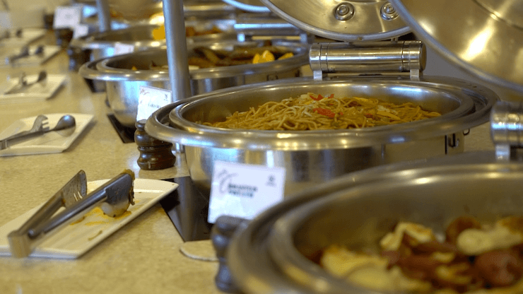 グアム シェラトンホテル ブログ 食事 朝食
