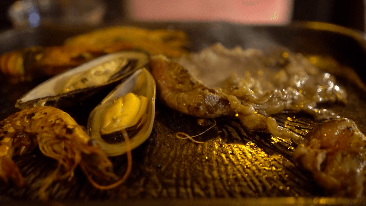 グアム シェラトンホテル ブログ 食事 夕食