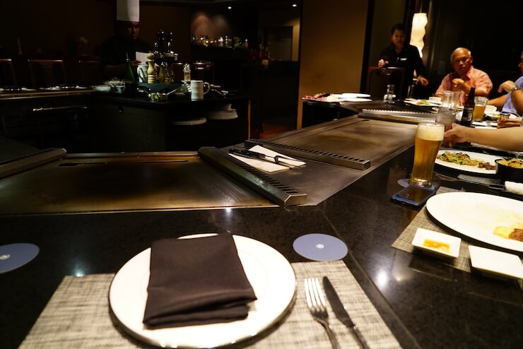 グアム シェラトンホテル ブログ 食事 夕食 ディナー