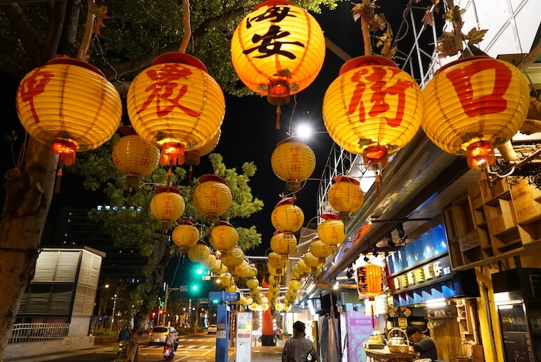 神農街 台湾 台南 写真 インスタスポット フォトジェニック