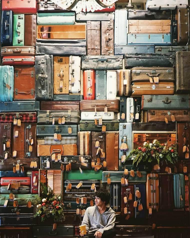 台湾,台中,写真,インスタスポット,1969 Blue Sky Hotel