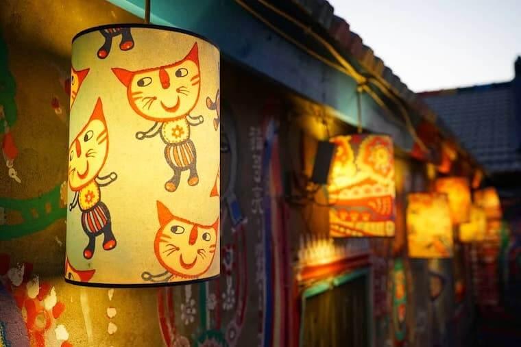 台湾,台中,写真,インスタスポット,彩虹眷村