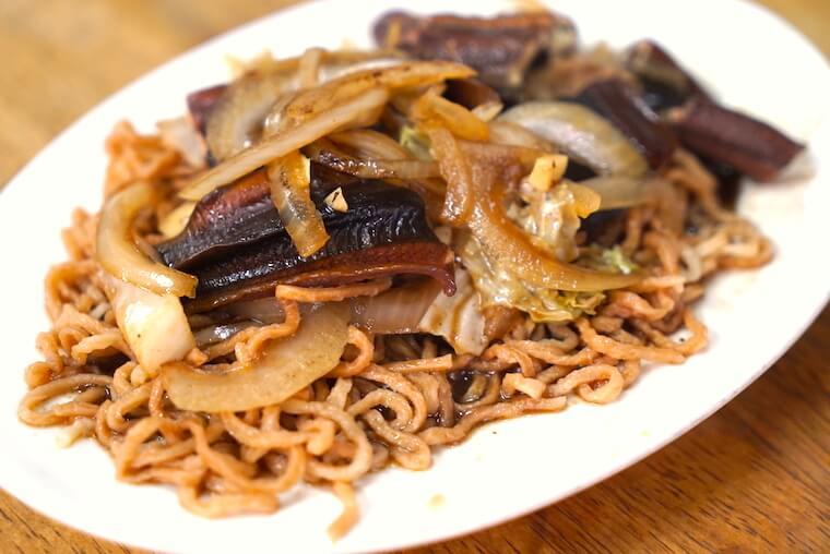 台湾・台南のおすすめB級グルメまとめ 黃記鱔魚意麵