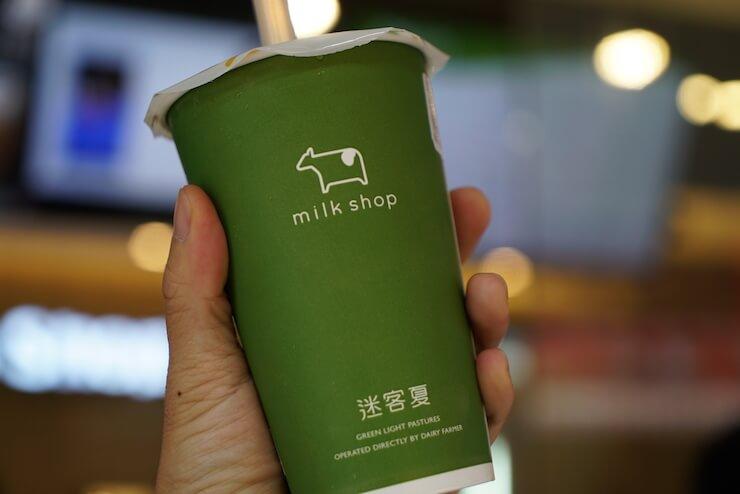 台湾・台北のタピオカミルクティーおすすめランキング Milk Shop