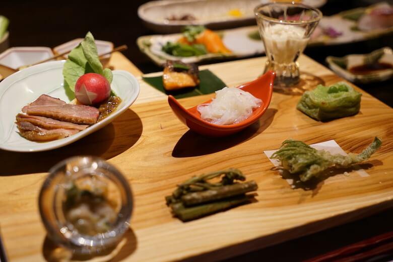 長野の高級旅館「さかや」 宿泊ブログ 信州・野沢温泉 食事