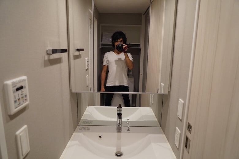 OYO LIFE オヨライフ レビューブログ マンション 部屋 洗面所