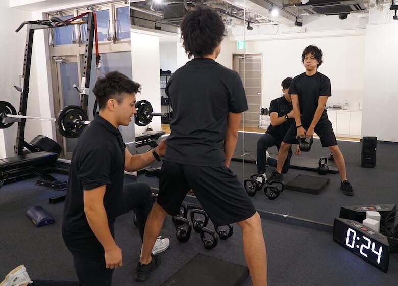 麻布の安いパーソナルトレーニングジムBEATS ビーツ メニュー