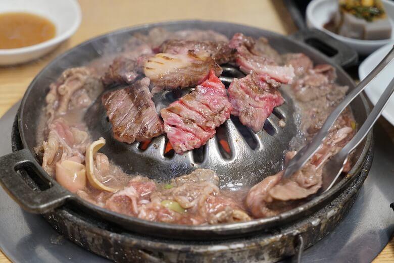 韓国釜山の海雲台ソムンナンアムソカルビチッ,レビューブログ,評判,値段