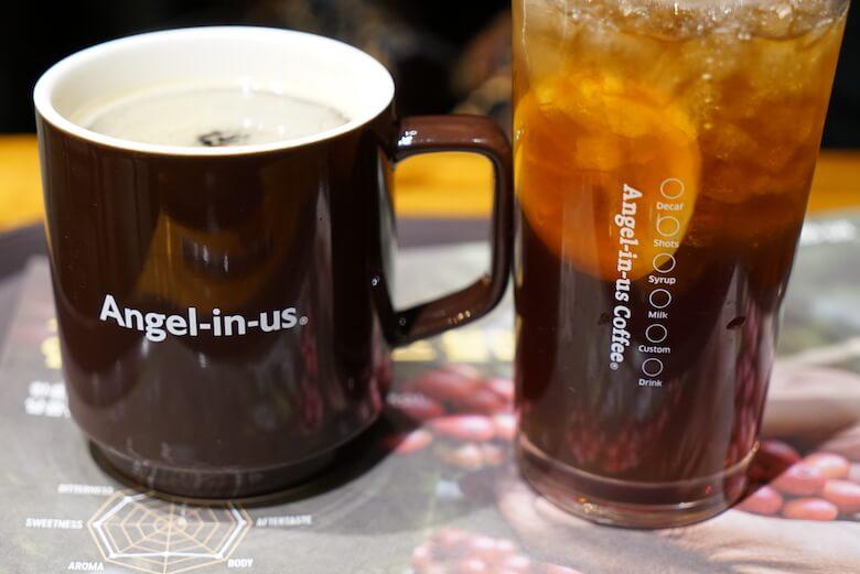 韓国富山のおすすめカフェチェーン,Angel-in-us Coffee(エンジェルインアスコーヒー)