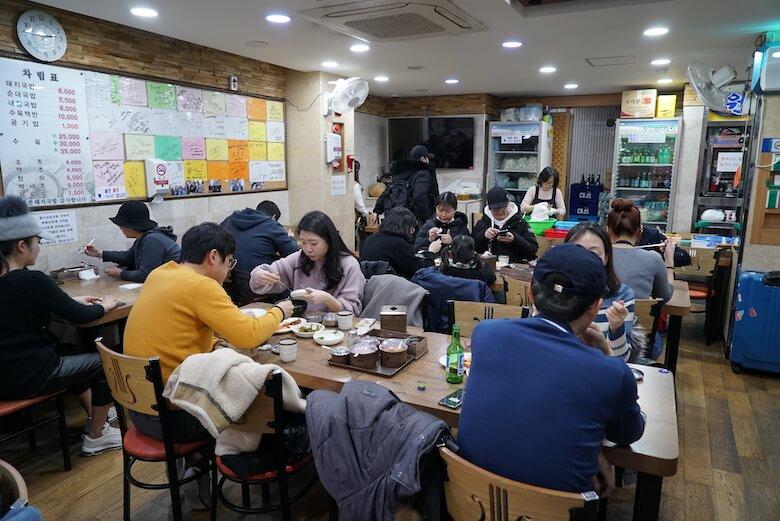 釜山駅,ポンジョンテジクッパ,写真付きレビューブログ
