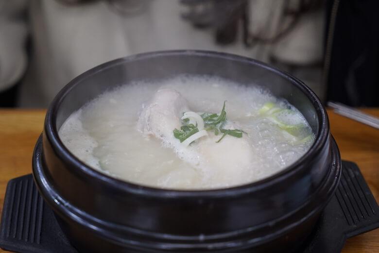 韓国釜山の南浦洞参鶏湯ナンポドンサムゲタンのレビューブログ】