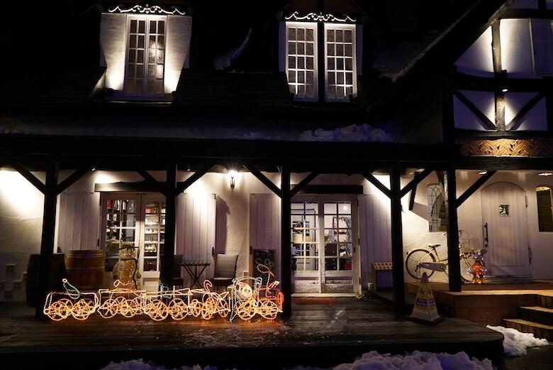 軽井沢Longing Houseのクリスマス,ディナー,夕食