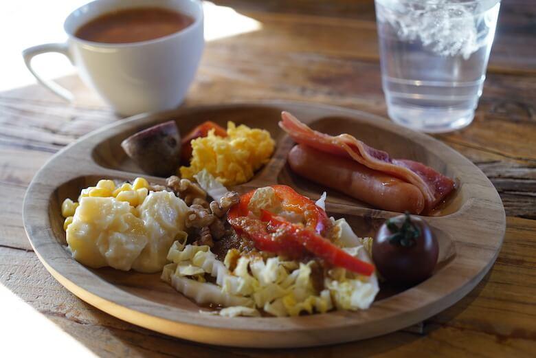 軽井沢Longing Houseのクリスマス,朝食